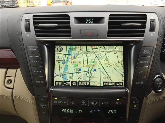 レクサス LS 600h バージョンU Iパック  4WD 本革シート