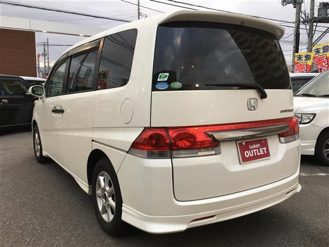 ホンダ ステップワゴン G LSパッケージ ワンオーナー 4WD HDDナビ ETC