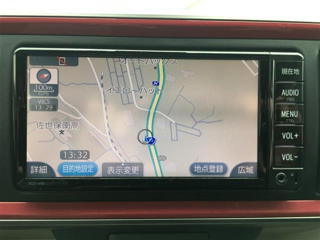 モーダ S 衝突被害軽減システム ワンオーナー 純正ナビ ワンセグテレビ Bluetooth バックカメラ スマートキー プッシュスタート  赤黒ツートンカラー LEDヘッドライト アイドリングストップ ETC(11枚目)