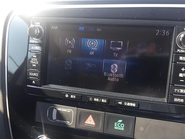 三菱 アウトランダー 24G ナビパッケージ