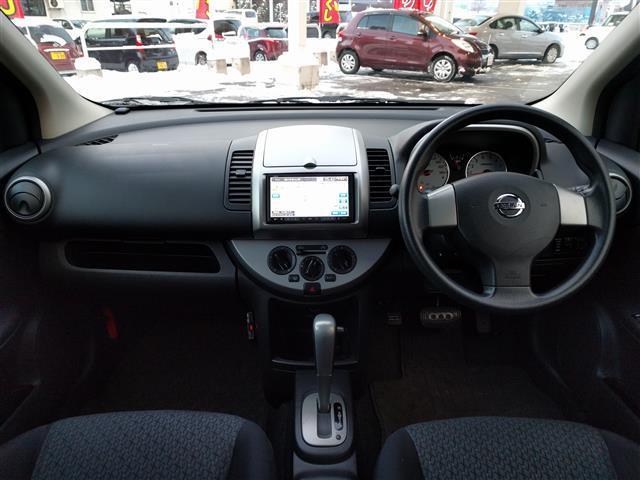 日産 ノート 15X FOUR SV 4WD メモリナビ ワンセグ ETC