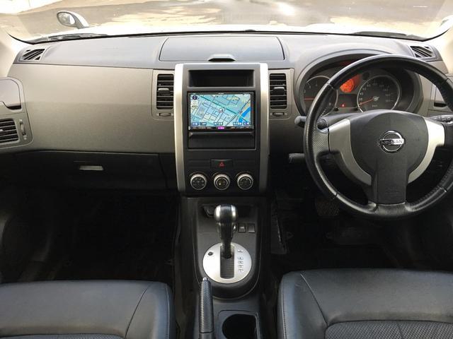 日産 エクストレイル 20X 4WD HDDナビ ETC DVD バックカメラ