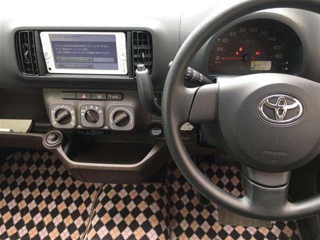 トヨタ パッソ X クツロギ メモリーナビ スマートキー キーレス