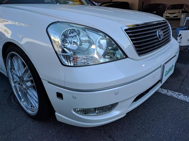 トヨタ セルシオ C インテリアセレクション DVDナビ アイドリングストップ