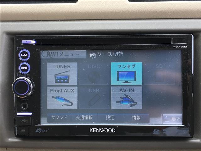 スズキ アルト F メモリーナビ ワンセグTV DVD再生 キーレス CD