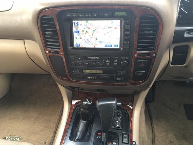 トヨタ ランドクルーザー100 VX-LTD Gセレクション 4WD 本革シート サンルーフ