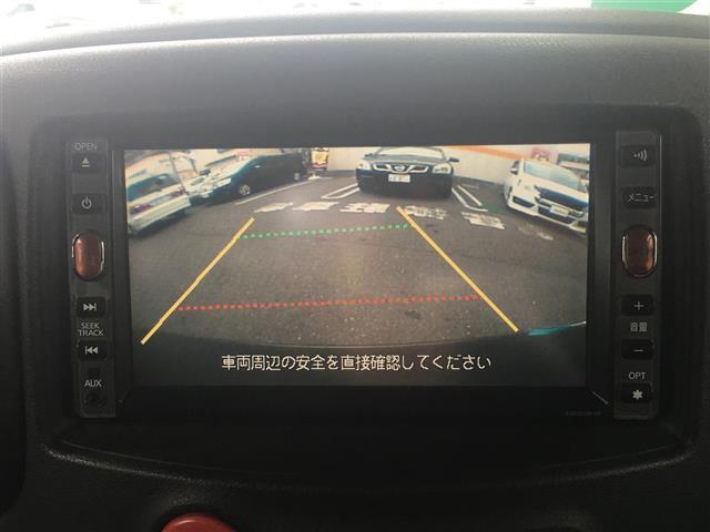 日産 キューブ 15X Mセレクション ワンオーナー 純正HDDナビ