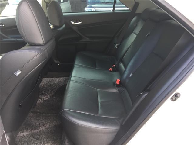 トヨタ マークX 250G Sパッケージ ワンオーナー 革シート バックカメラ