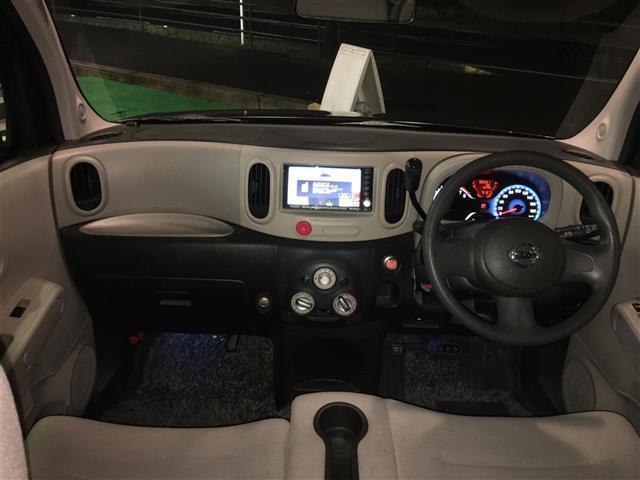 日産 キューブ 15XMセレクション ワンオーナー HDDナビ フルセグTV