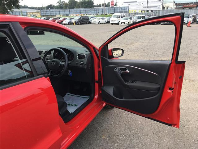 フォルクスワーゲン VW ポロ TSI 純正ナビ Bカメラ レーダークルコン ETC