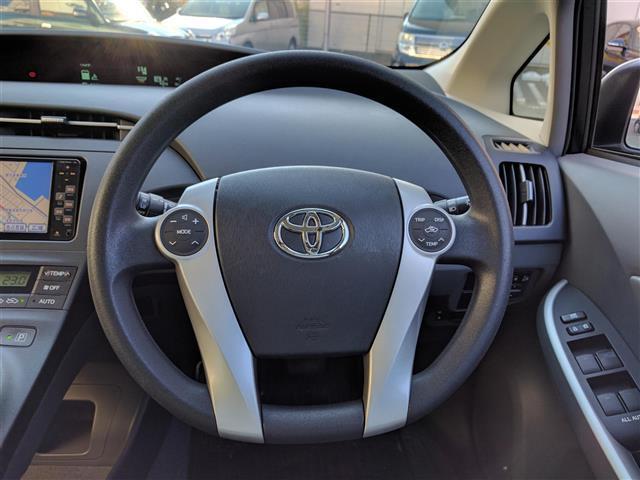 トヨタ プリウス S ワンオーナー メモリナビ スマートキー プッシュスタート