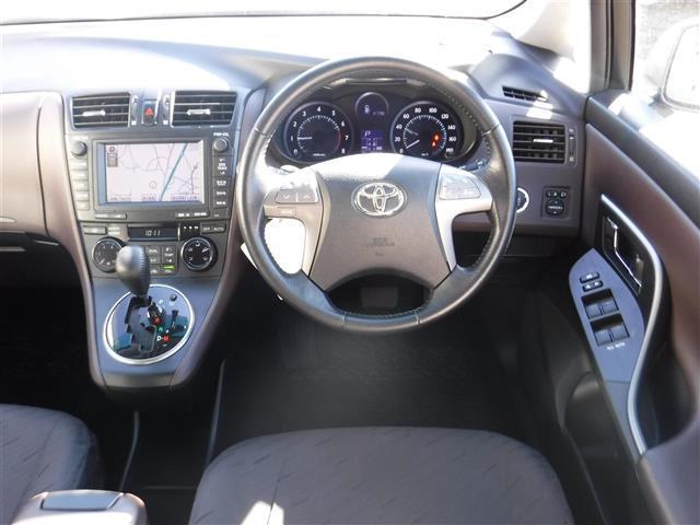 トヨタ マークXジオ 240G エアロ HDDナビ バックカメラ CDオーディオ
