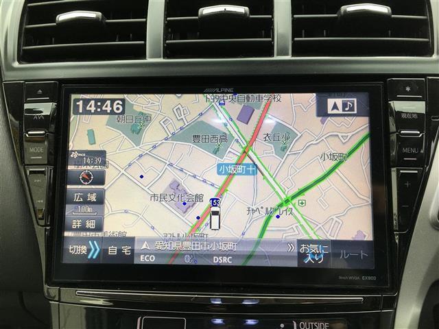 G ワンオーナー アルパイン9型ナビ フルセグTV ETC(11枚目)