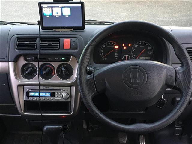 ベースグレード 4WD ワンオーナー 純正CDオーディオ ポータブルナビ パワーウィンドウ フォグランプ ドアバイザー フロアマット リモコンキー(13枚目)