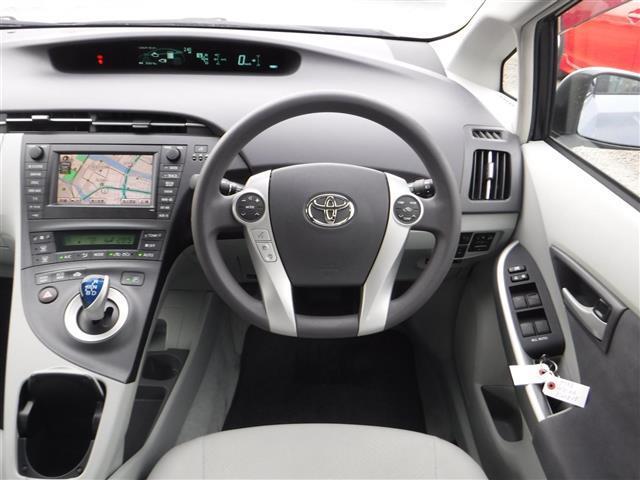 トヨタ プリウス S HDDナビ バックカメラ フルセグTV スマートキー