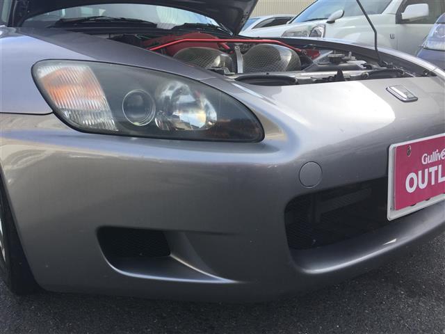 ホンダ S2000 車高調 無限マフラー GTウイング 社外エアクリ 革シート