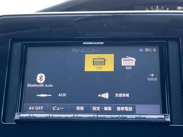 X Vセレクション 4WD 外メモリナビ NR-MZ005 CD DVD BT 全方位カメラ 衝突軽減 横滑り防止 クルコン 両側パワスラ  サイド+カーテンSRS リアヒーター チャイルドシート固定バー Pアシスト(4枚目)