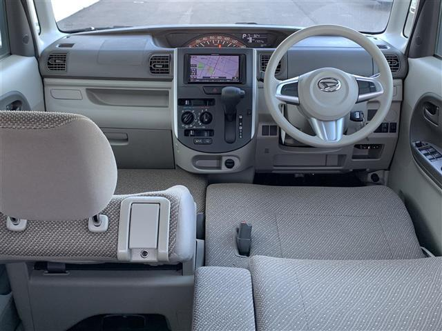 L 4WD 社外メモリナビ NR-MZ005 CD DVD BT バックカメラ アイドリングストップ D席シートヒーター ベンチシート ETC キセノンヘッドライト 横滑り防止装置(3枚目)
