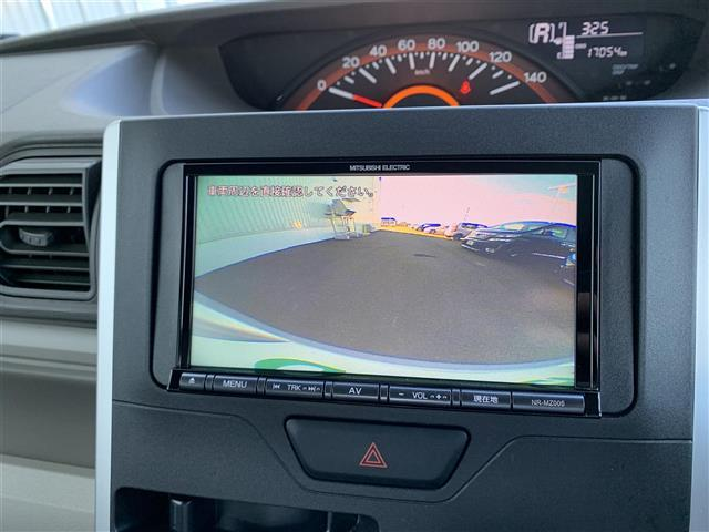 L 4WD 社外メモリナビ NR-MZ005 CD DVD BT バックカメラ アイドリングストップ D席シートヒーター ベンチシート ETC キセノンヘッドライト 横滑り防止装置(4枚目)