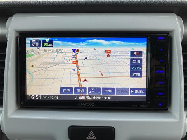 X 4WD 社外メモリナビ DVD/CD/フルセグTV/BT 衝突軽減 レーンキープアシスト ステアリモコン シートヒーター 横滑り防止 アイドリングストップ オートライト エンジンプッシュスタート(7枚目)