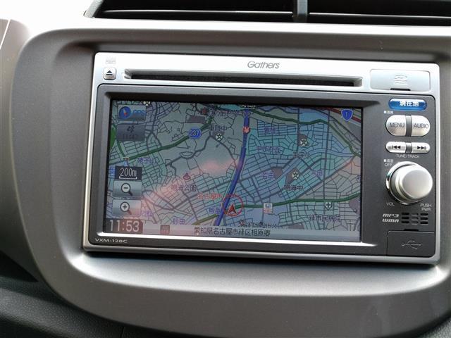 ホンダ フィット G 10thアニバーサリー HDDナビ ETC CD