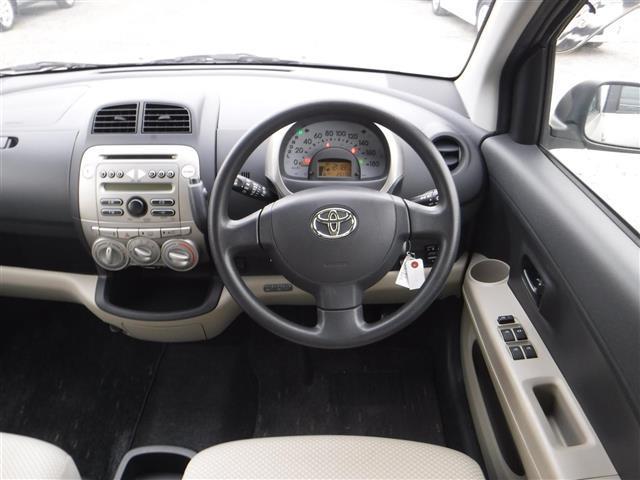 トヨタ パッソ X ワンオーナー キーレスエントリー CDオーディオ