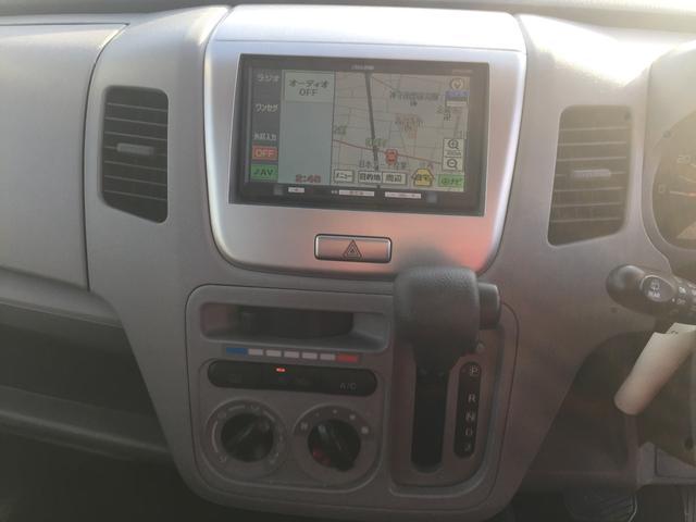 スズキ ワゴンR FX-LTD メモリーナビ ワンセグTV ベンチシート