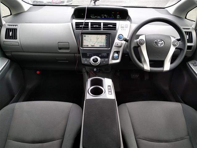 トヨタ プリウスアルファ S ワンオーナー メモリーナビバックカメラETCスマートキー