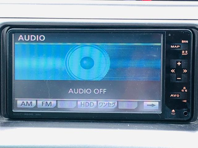 【純正HDDナビ】CD・DVDの再生はもちろん、フルセグ・ワンセグ・Bluetoothにも対応しているのでドライブが快適になりますね!!