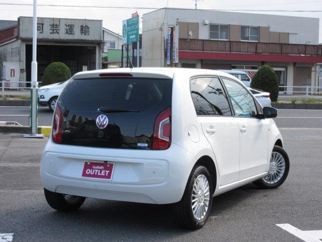 フォルクスワーゲン VW アップ! ハイアップ! SDナビ バックカメラ シートヒーター