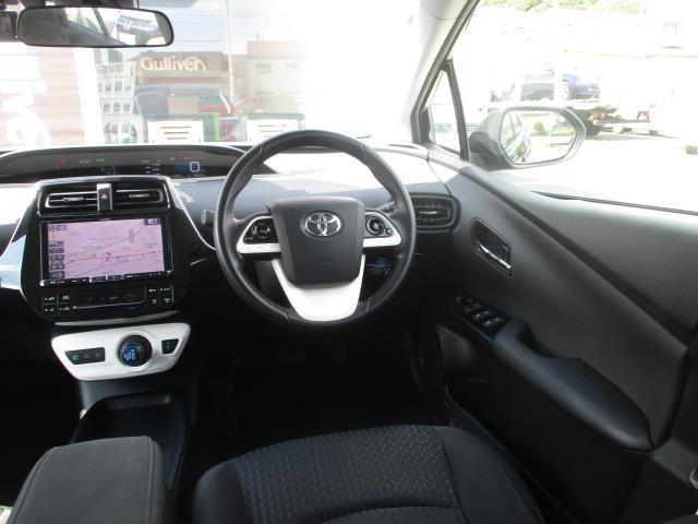 S トヨタセーフティセンスP 社外9型ナビ スマートキー プッシュスタート(8枚目)