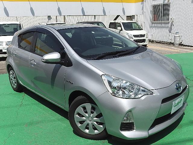 「トヨタ」「アクア」「コンパクトカー」「和歌山県」の中古車6