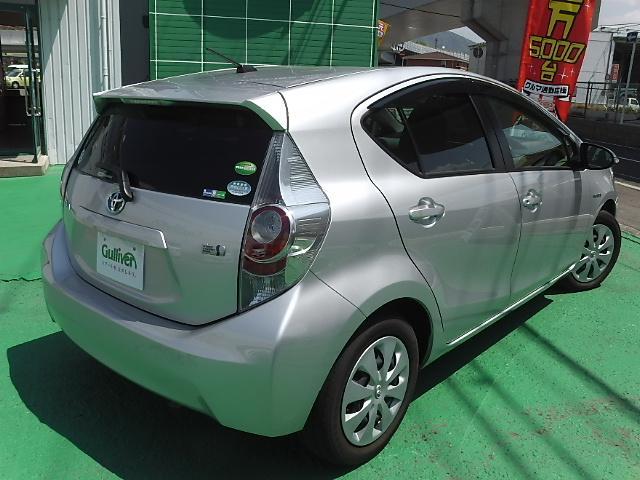 「トヨタ」「アクア」「コンパクトカー」「和歌山県」の中古車8