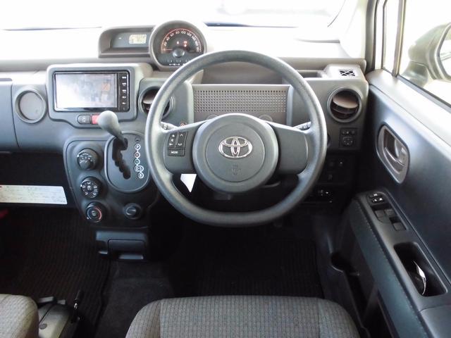トヨタ スペイド X 助手席回転シート 脱着タイプ メモリーナビ バックカメラ