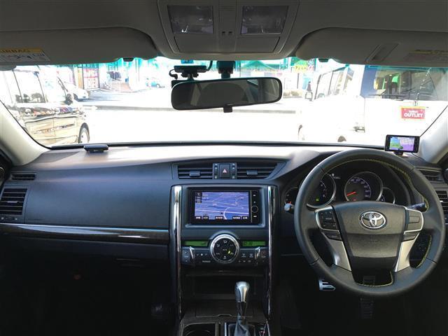 トヨタ マークX 250G HDDナビ フルセグ Bカメラ スマートキー