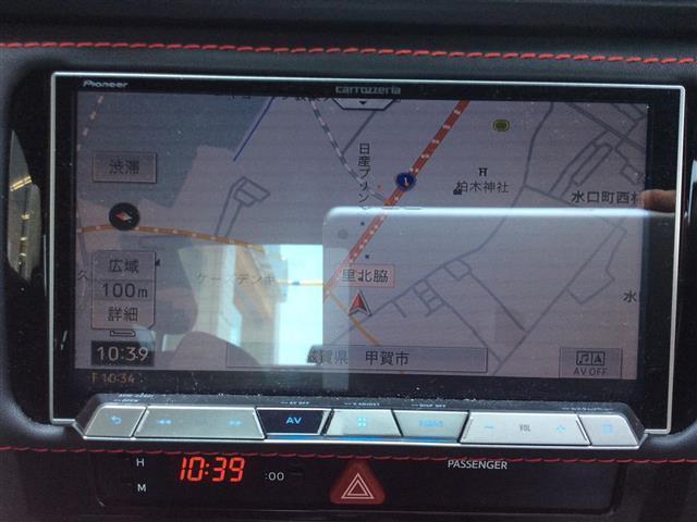 S 後期モデル6MT ロッソモデロマフラー ナビフルセグTV(20枚目)