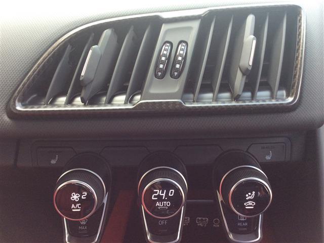 V10クーペ 5.2FSIクワトロ ワンオーナー赤革シート(7枚目)