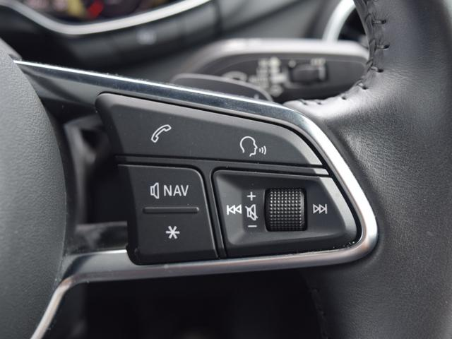 2.0TFSIクワトロ 4WD バーチャルコクピット 純正ナビ電動OP 純正アルミホイール ドライブレコーダー ETC LEDヘッドライト パドルシフト ステアリングリモコン BlueTooth接続可 スマートキー(15枚目)