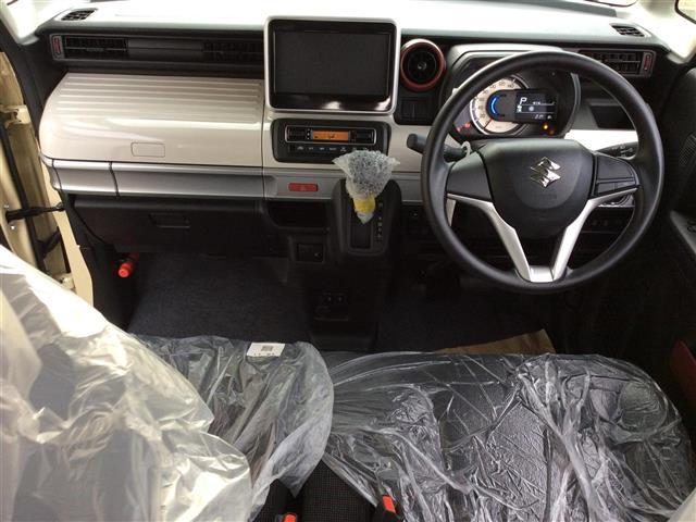 ハイブリッドX 登録済未使用車 両側パワスラ オーディオレス プッシュスタート Aストップ スズキセーフティサポート クルコン スマートキー 横滑り防止機能 電動格納ミラー シートヒーター コーナーセンサー 取説(8枚目)