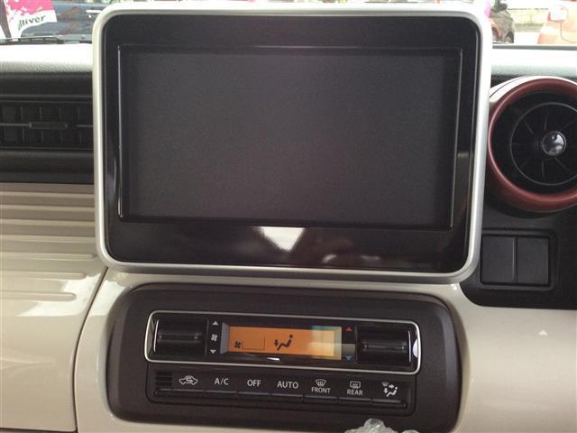 ハイブリッドX 登録済未使用車 両側パワスラ オーディオレス プッシュスタート Aストップ スズキセーフティサポート クルコン スマートキー 横滑り防止機能 電動格納ミラー シートヒーター コーナーセンサー 取説(10枚目)