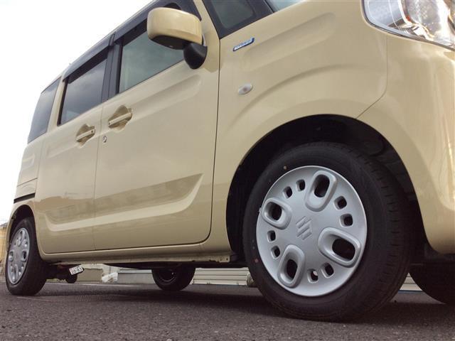 ハイブリッドX 登録済未使用車 両側パワスラ オーディオレス プッシュスタート Aストップ スズキセーフティサポート クルコン スマートキー 横滑り防止機能 電動格納ミラー シートヒーター コーナーセンサー 取説(15枚目)