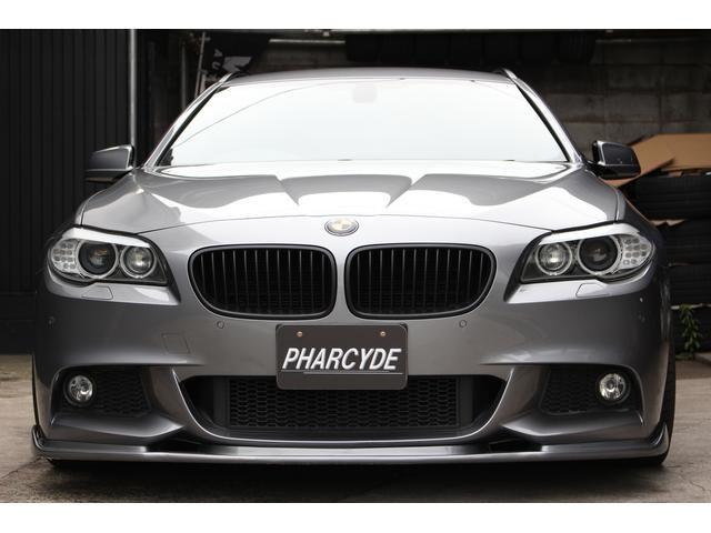 BMW BMW 523iツーリング Mスポーツ 車高調20インチ