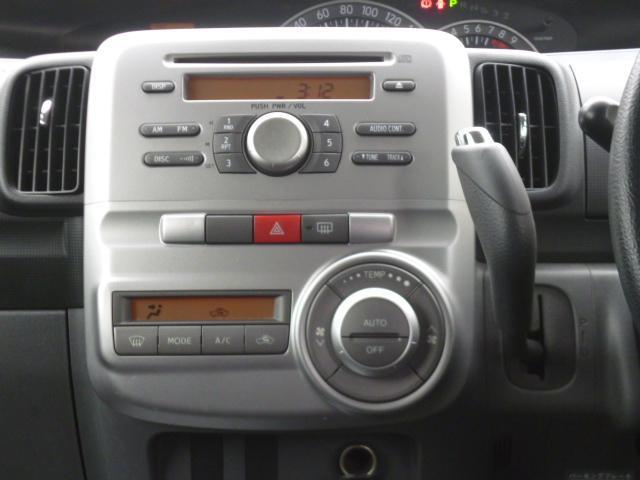ダイハツ タント カスタムX HID CD ドアバイザー