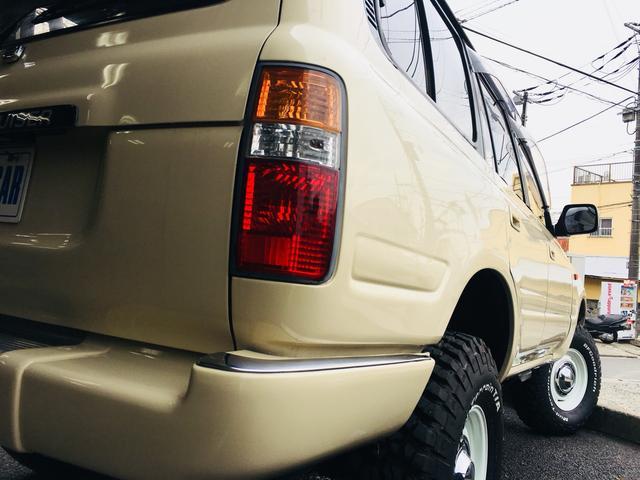トヨタ ランドクルーザー80 VXリミテッド 丸目換装60仕様 リフトアップ シートカバー