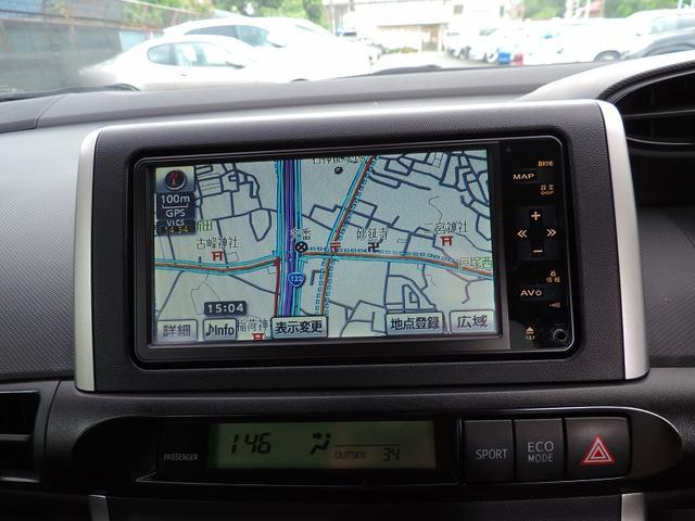トヨタ ウィッシュ 1.8S スマート Bカメラ 純正HDDナビ