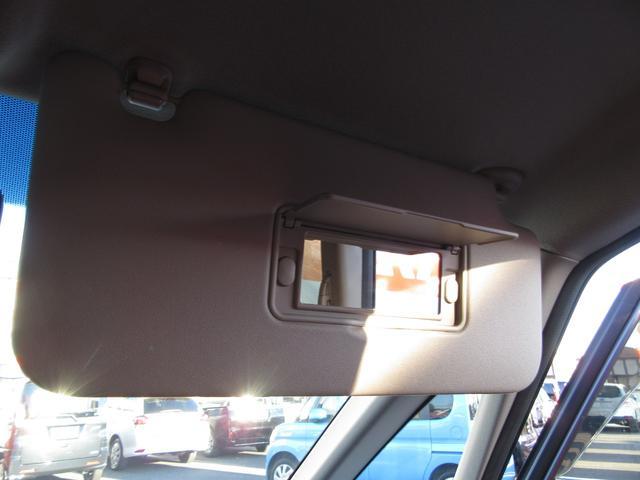 運転席側のバニティーミラー