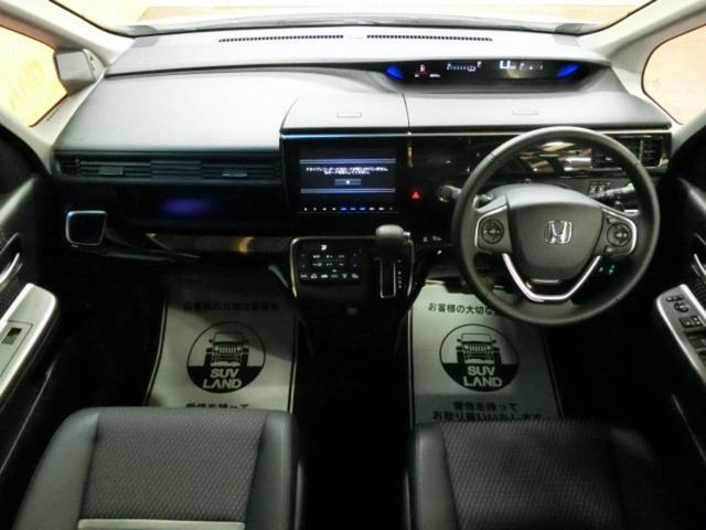 ホンダ ステップワゴンスパーダ モテューロXホンタセンシンク 9型SDナビ