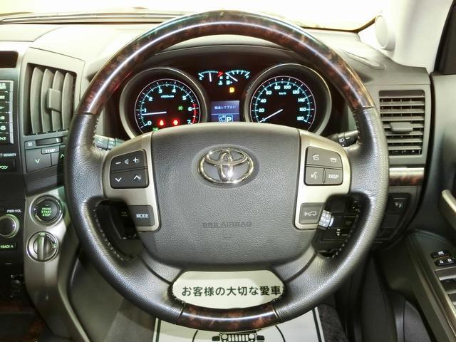 トヨタ ランドクルーザー AX Gセレクション メーカーナビ 社外20インチアルミ
