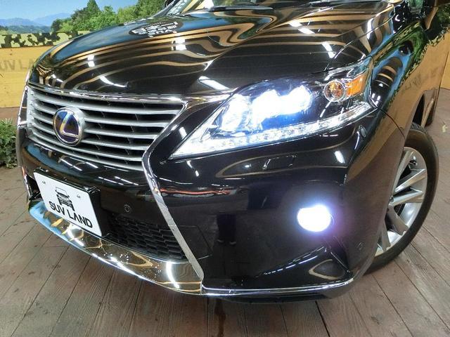 RX450h バージョンL 本革シート LEDヘッドライト(17枚目)