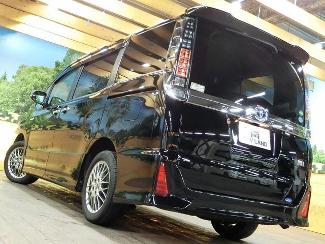トヨタ ヴォクシー ハイブリッドZS 煌II 9型SDナビ 1オーナー 禁煙車